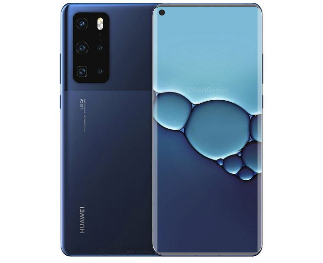 High-quality image confirms the design of Huawei P40 Pro