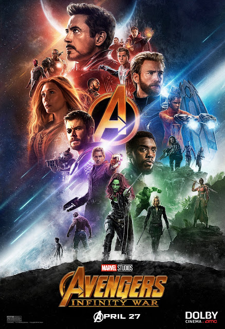 Marvel's Avengers: Infinity War DOLBY Cinema at AMC Theatrical One Sheet Movie Poster