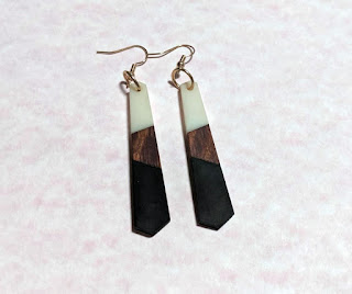 Women's Fashion | Gleam Wood Earrings by Honestly Brave