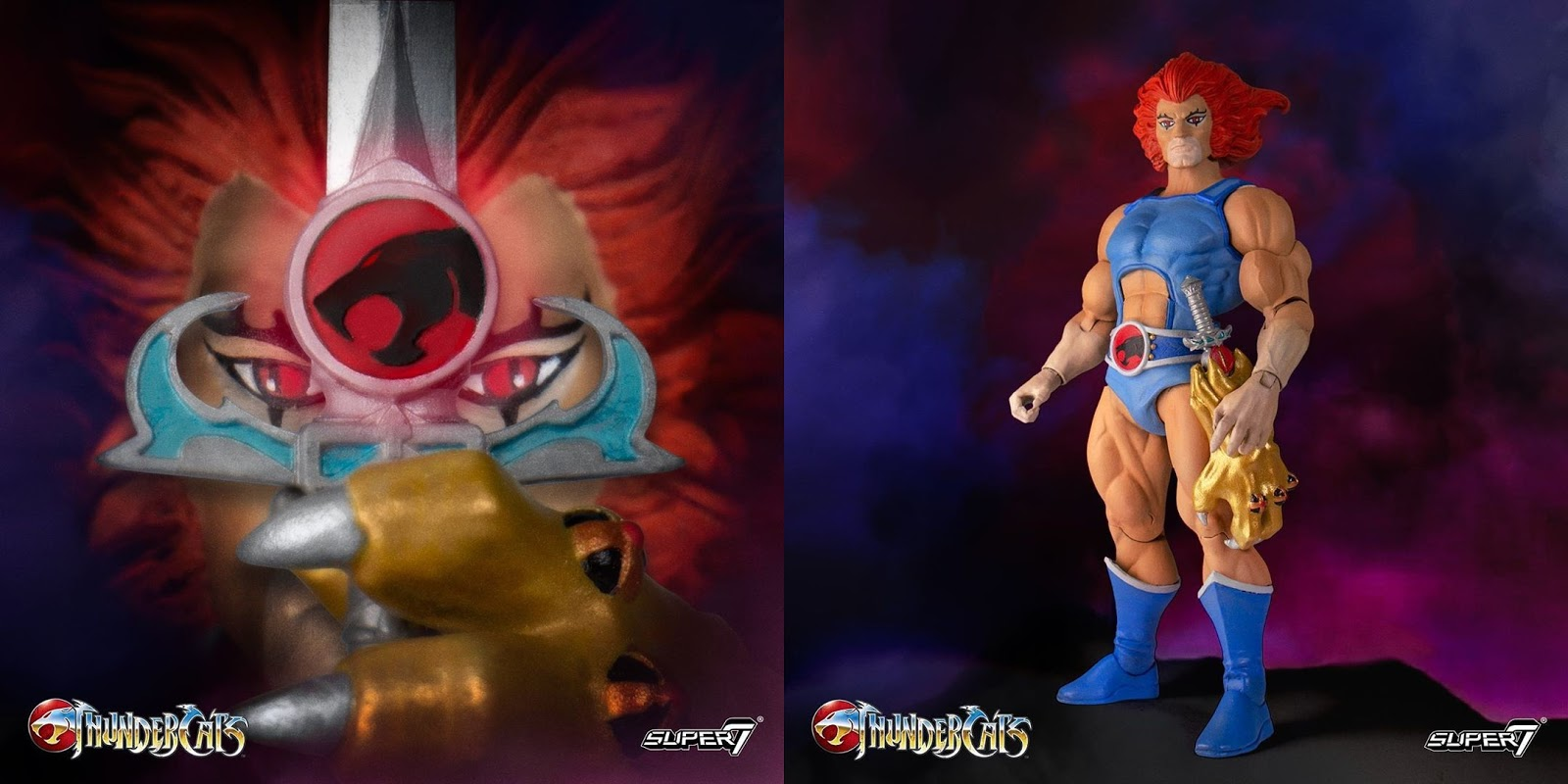 Thundercats 2017 SDCC Excl MUMM-RA IN HAND GLOWS IN DARK The Loyal Subjects