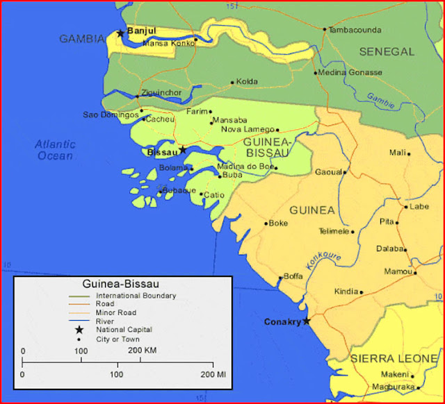image: Map of Guinea-Bissau