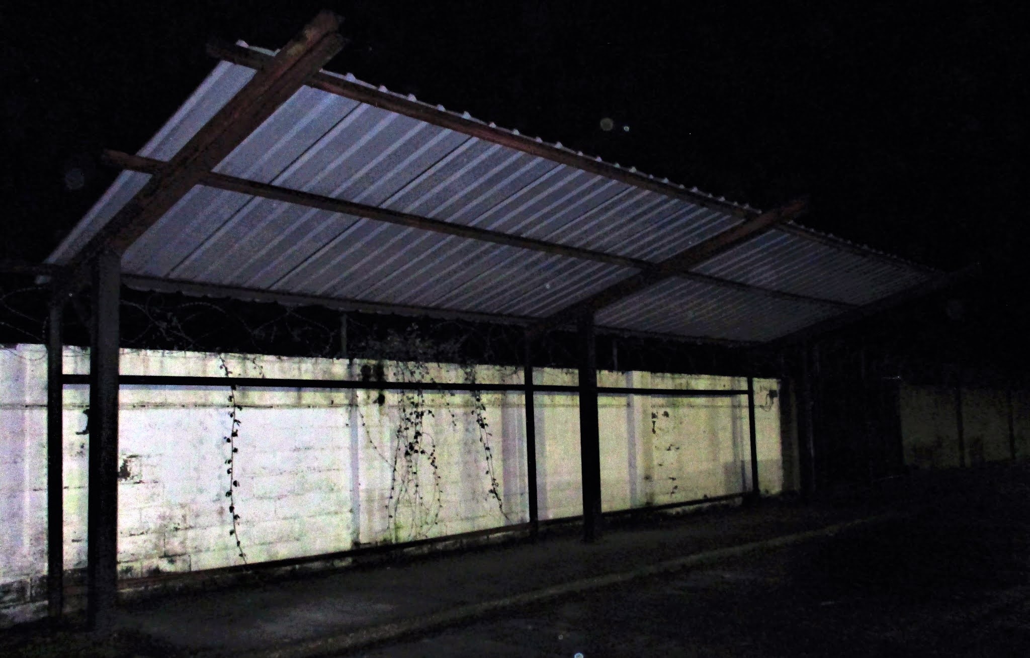 Sheltered stand at The Rivermoor Stadium