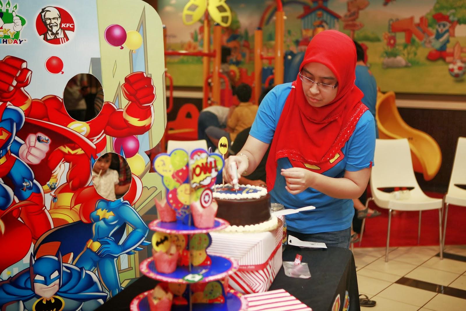 Ruzain 1st Birthday @KFC Subang Parade!