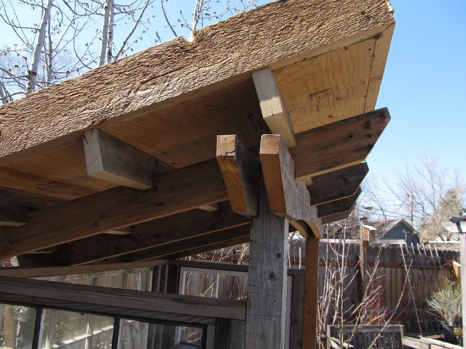 Montana Wildlife Gardener Green Roof For The Grill Shed