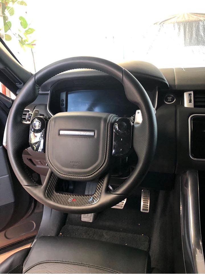 Cận cảnh Range Rover Sport SVR 2019 độc nhất Việt Nam