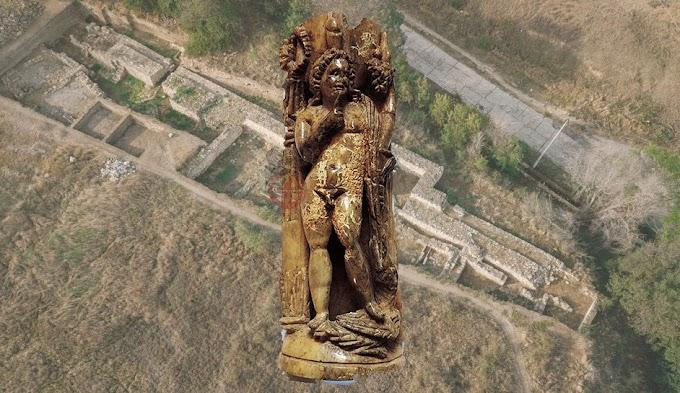 Ταυρική -Τυριτάκη : Ανακαλύφθηκε  μοναδικό αγαλμάτιο από  ελεφαντόδοντο του  Πτολεμαϊκού θεού  Ἁρποκράτη
