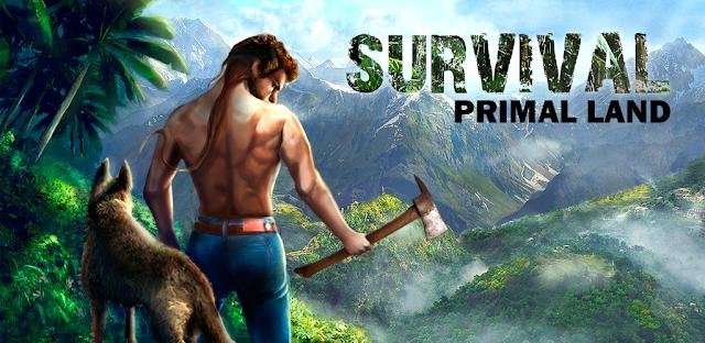 تحميل لعبة Survival Island: Primal Land كاملة مهكرة للاندرويد اخر تحديث