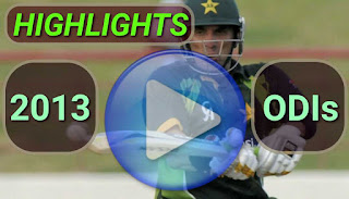 2013 odi cricket matches highlights online
