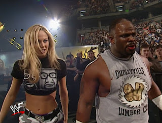 WWE / WWF No Way Out 2002 - Stacy and D'Von Dudley