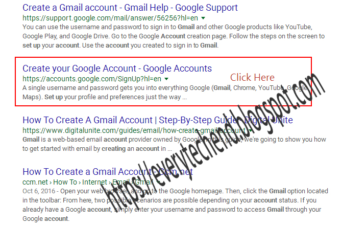 How to set up a new gmail account