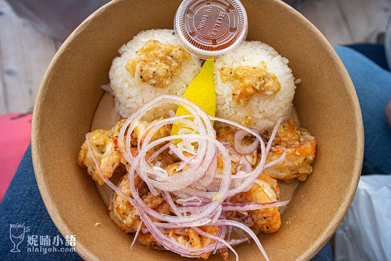 【沖繩古宇利島美食】SHRIMP WAGON蝦蝦飯。網美取景最愛馬卡龍蝦餐車