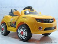 1 Mobil Mainan Aki JUNIOR JB30R CHEVROLET CAMERO dengan Kendali Jauh