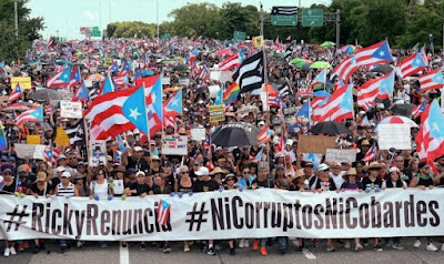 Image result for Puerto Rico Coup D'Etat of July 2019