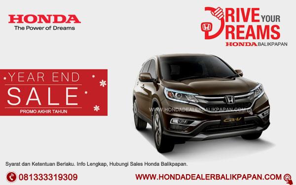 Promo Akhir Tahun Honda CR-V Balikpapan