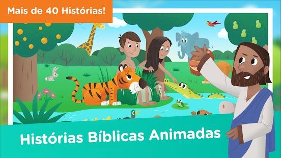 Aplicativo Histórias Bíblicas para Crianças