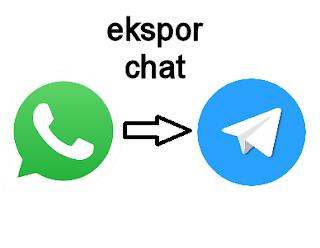 Cara Ekspor Chat WhatsApp ke Telegram dengan Mudah