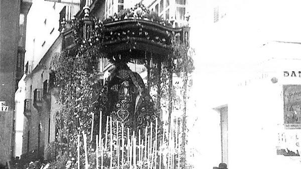El Santo Entierro de hace un siglo en Cádiz