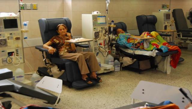 Solo dos de 12 máquinas funcionan en unidad de diálisis del hospital central de Maturín