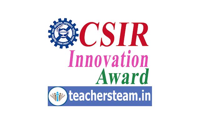 CSIR Innovation Awards to school students