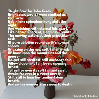 Good Morning Beautiful  poem, bright side by john keats