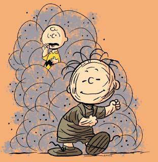Charles Schultz's Pig Pen, Art credit: Peanuts Studio Blog