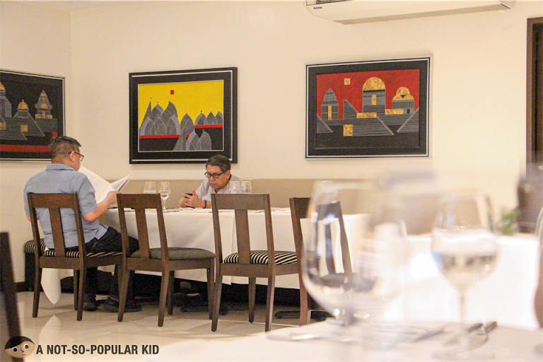 Interior of Bistro Manuel, Poblacion, Makati