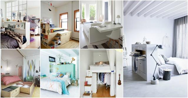 10 Ide Tempat Tidur Kreatif Untuk Ruang Kecil