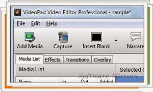 VideoPad Video Editor 3.28 Download