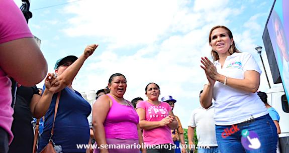 Recuperar el rumbo y la seguridad de Solidaridad es prioridad: Lili Campos
