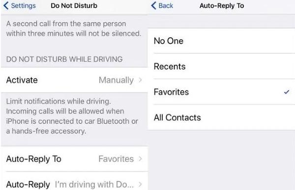 Cara Mudah Membalas Pesan Teks Secara Otomatis pada iPhone 2
