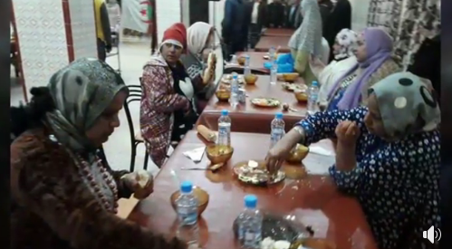 جمعية شباب الخير تنظم وجبة عشاء على شرف نزلاء دار المسنين بالشلف