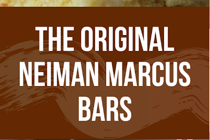 The Original Neiman Marcus Bars