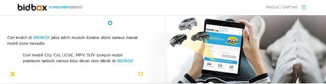 Beli Mobil Secara Online di Bidbox