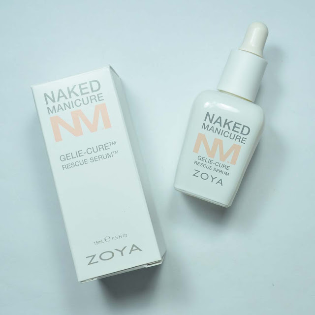 nail serum dropper and box