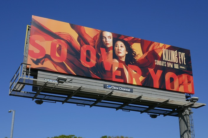 Killing Eve season 3 billboard