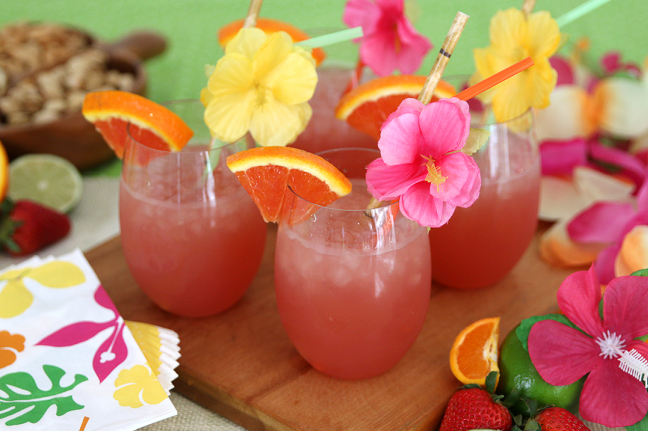 Tropical Rum Punch Recipe #drink