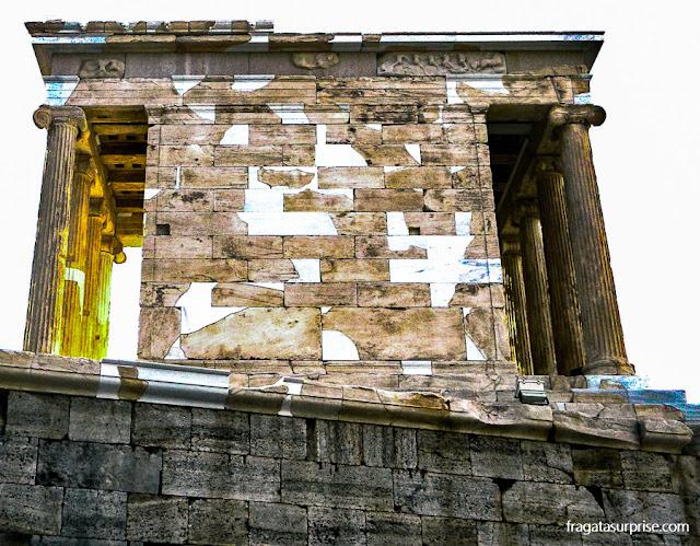 Templo de Atena Niké, na Acrópole de Atenas