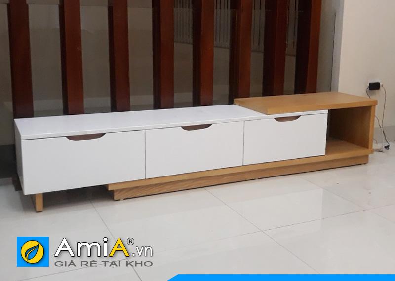 Mẫu kệ tivi gỗ công nghiệp giá rẻ