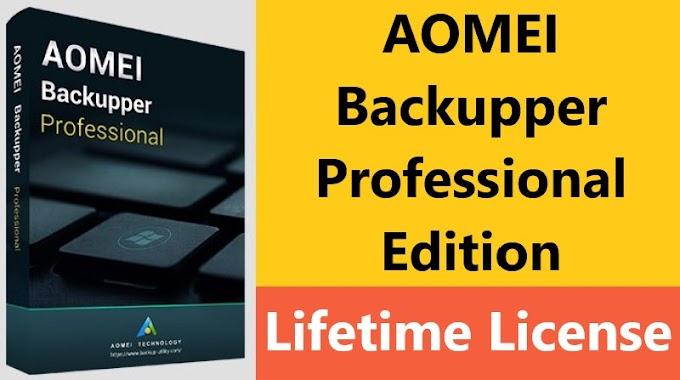 $27.99 AOMEI Backupper Professional Edition Lifetime Subscription License