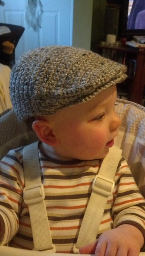 Seamus Scally Cap (Child Sizes) -  Crochet Pattern