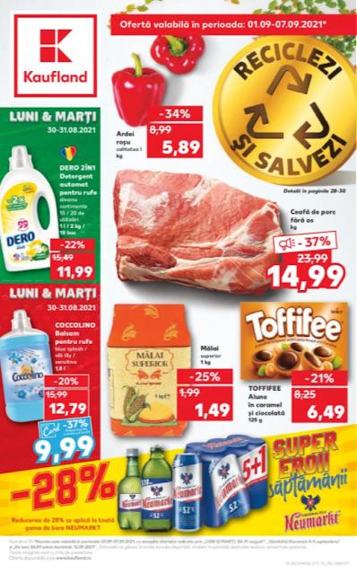 Kaufland Promotii + Catalog - Brosura 01-07.09 2021