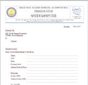 Form Pendaftaran KKL