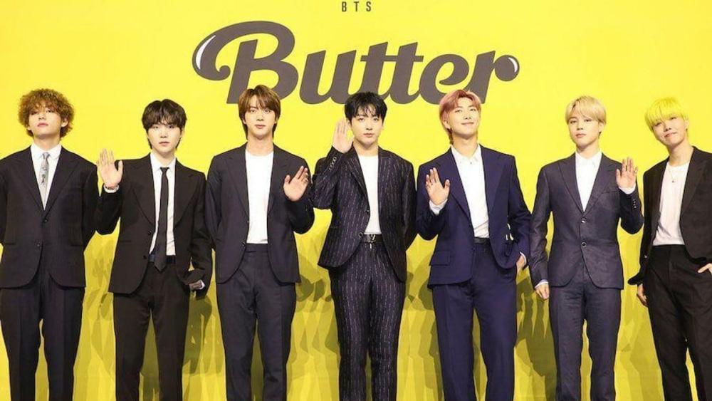 BTS Topped iTunes Charts Worldwide With 'Butter'