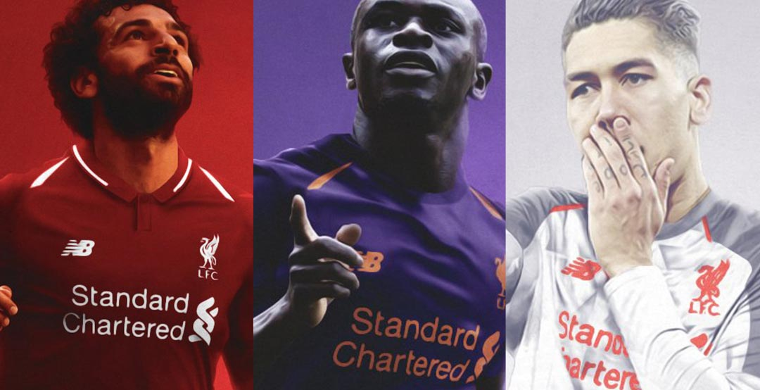 official photos dd7ea 87007 Update - Liverpool 18-19 Home, Away and Third Kits Leaked ...