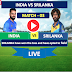 Final Match India vs SriLanka - 3rdT20 match 10 JAN