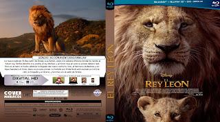 CARATULA EL REY LEON - THE LION KING - 2019