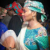 Zahra Buhari-Indimi Spotted With A Baby Bump At Uncle's Wedding