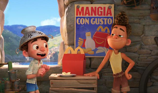 Disney Pixar Luca McDonalds Happy Meal