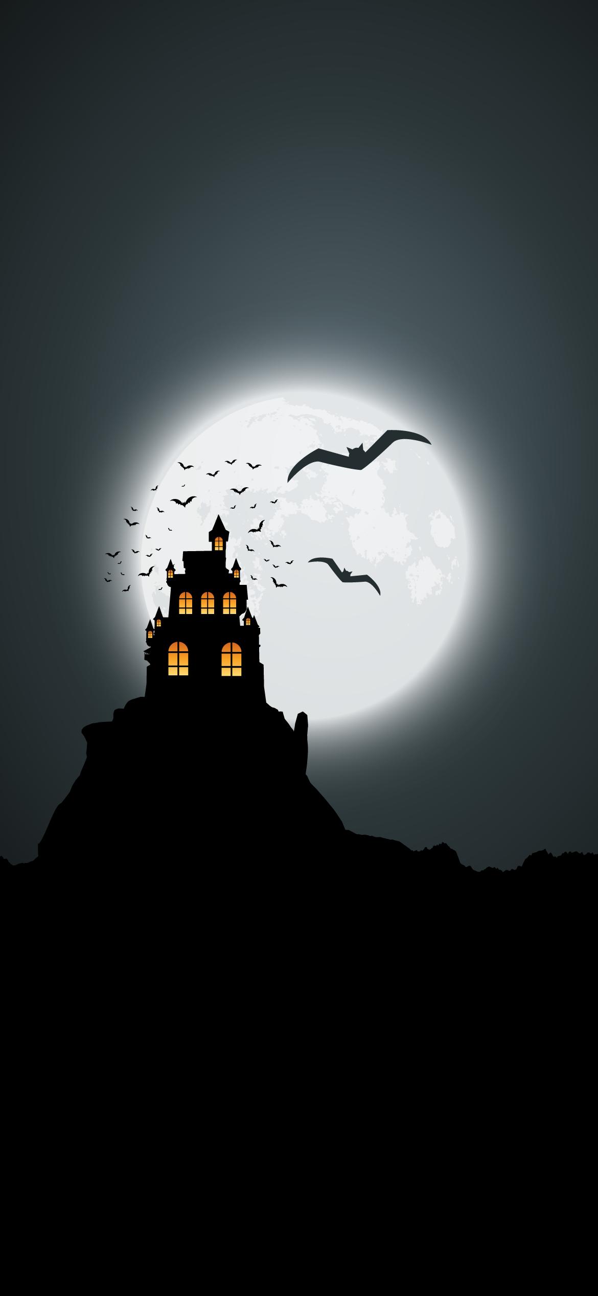 dark halloween bat horror terror