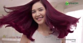 Nama Bintang Pemeran Iklan Garnier Ultra Color Terbaru